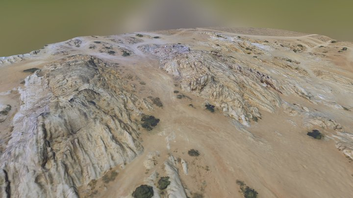 Moon Rocks, Nevada (N39° 50.960 W119° 44.378) 3D Model