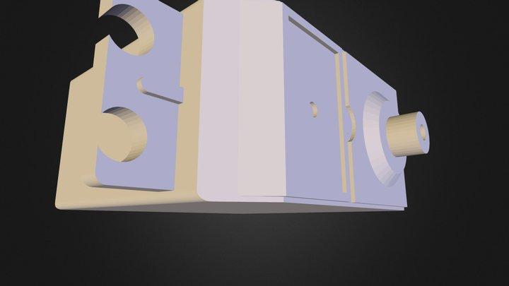 SERVOMOTOR METÁLICO DE 9KG TORQUE 3D Model