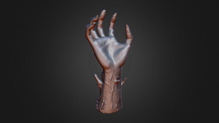 My Hand of Doom Reaching 3D Model