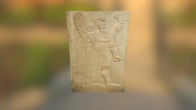 Nimrud Palace Relief 3D Model