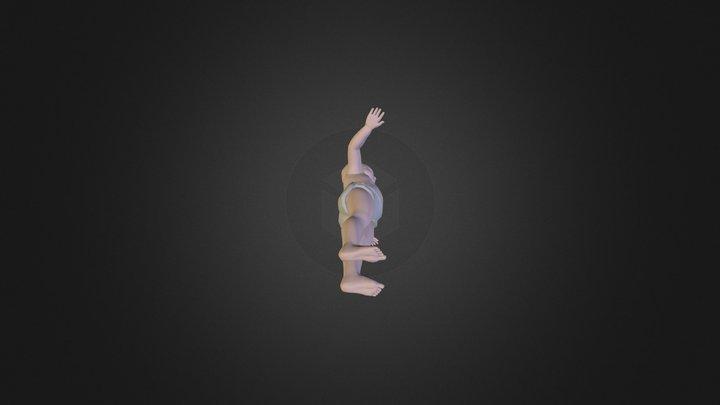 hundredone 3ds BABY 3D Model