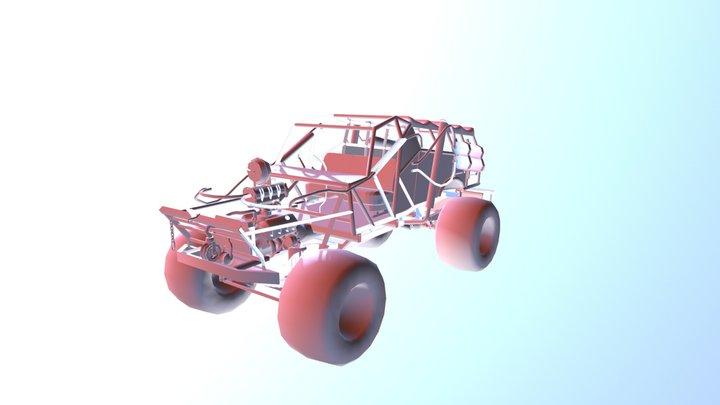 Thunderdome Andamooka Buggy WIP 3D Model