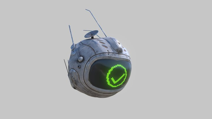 Drone - Rigged and Animated 3D Model