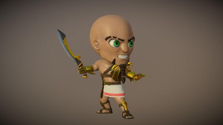 Chibi-Egipcio 3D Model