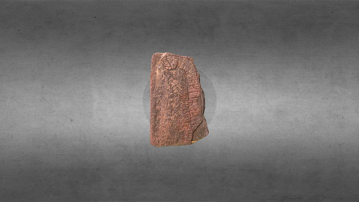 Viking Stone from Smålands Skogar 3D Model