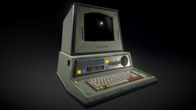 Nostromo Terminal 3D Model