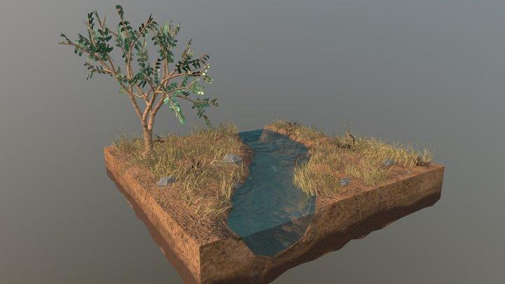 South African Habitat 3D Model