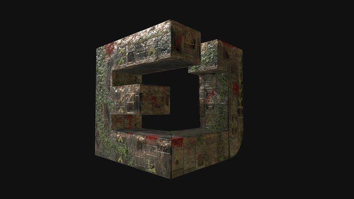Epic J Creations 3D Logo 3D Model