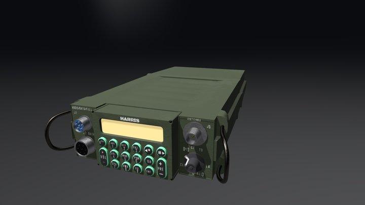 Prc-117(g) Radio 3D Model