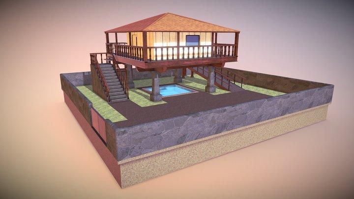 Horreo 3D Model