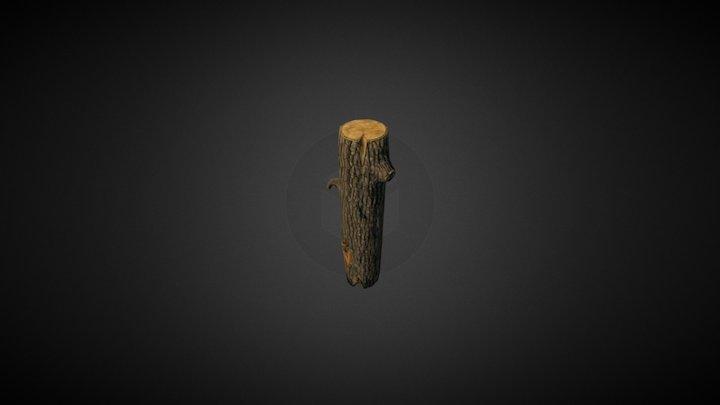 Wooden Bark 3D Model