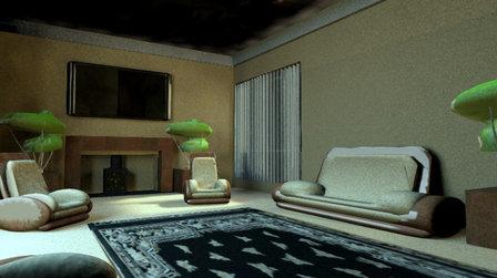 iRay Room 3D Model