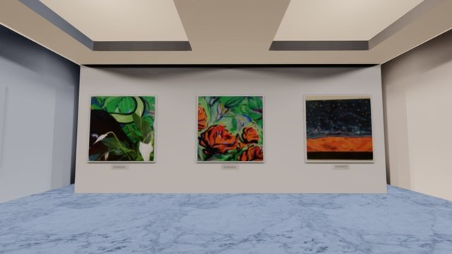 Instamuseum for @bifavenezia 3D Model