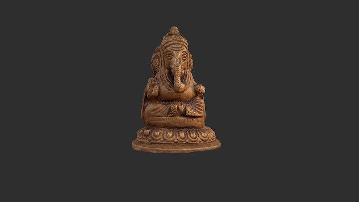 Ganesh OBJ 3D Model