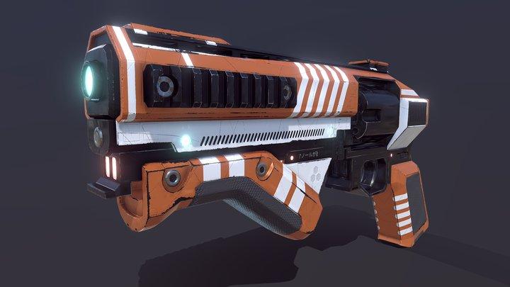 Destiny Gaheris 3D Model