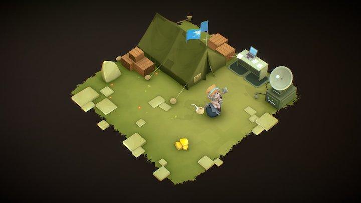 Adventure Academy 3D Model