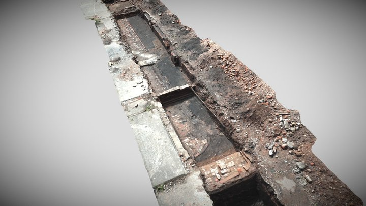 Trench 1_simplified_3d_mesh 3D Model
