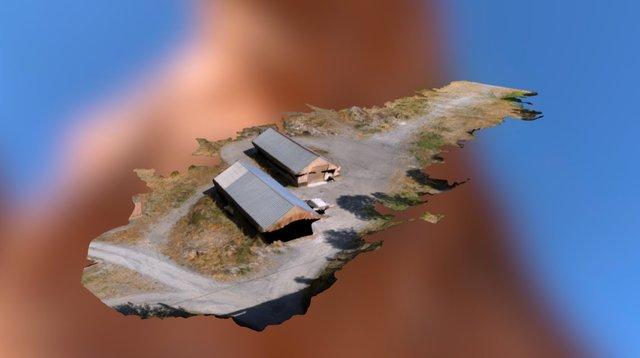 LATITUDE DRONE - Centrale hydraulique Isère 3D Model