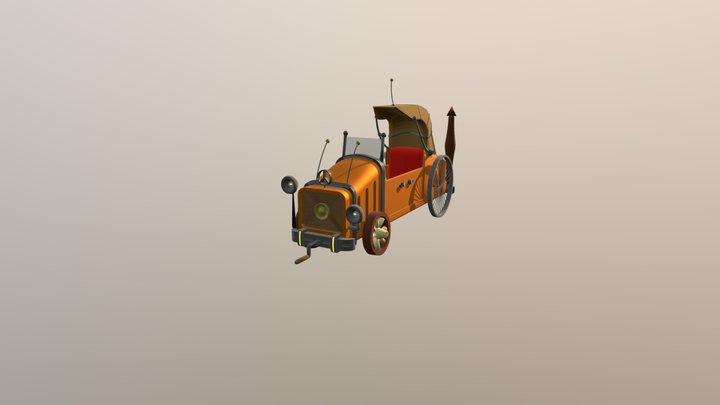 Volk' s (Wolf' s) Car 3D Model