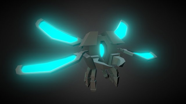 Small Glytchbug 3D Model