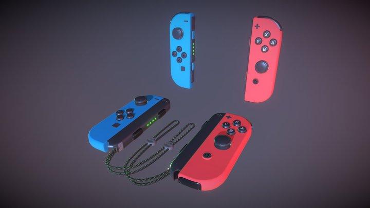 Joy-Con 3D Model