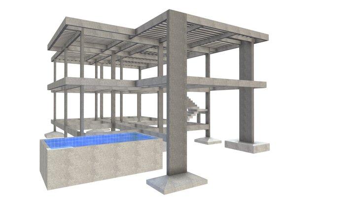 Projeto Residencial - Casa 86 3D Model