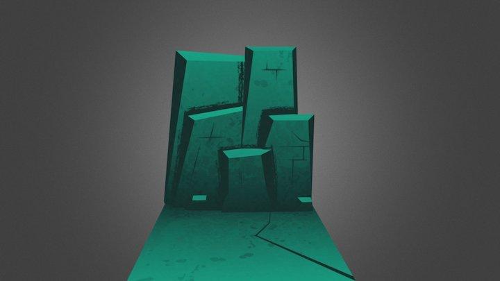 Tall Tales (cave wall test) 3D Model