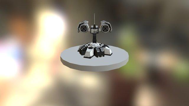 turret.unity 3D Model