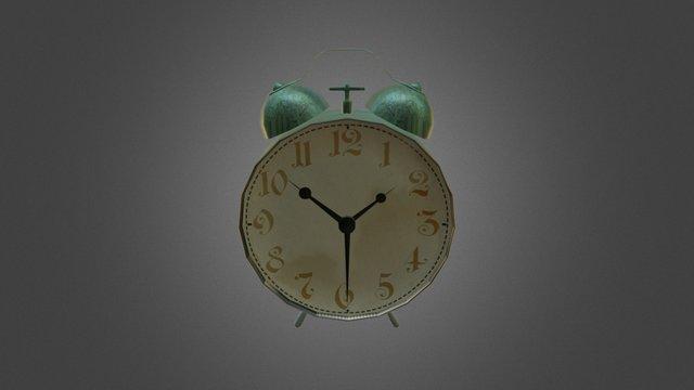Rusty Clock 3D Model
