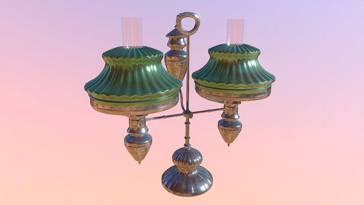 Victorian Lamp 3D Model
