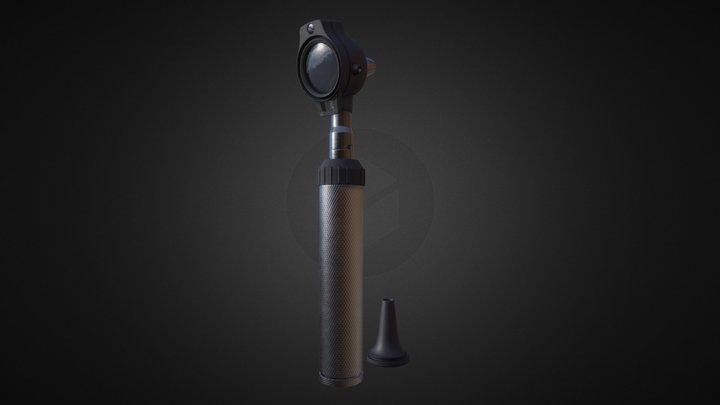 Hospital Asset: Otoscope 3D Model