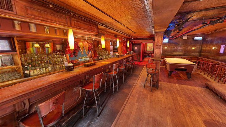 Stonewall Inn Interior, NYC 3D Model