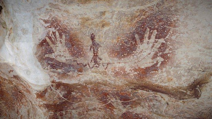 Gua Tewet - The shamanic hands 3D Model