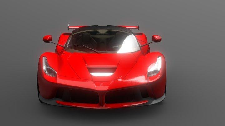Sports HighPoly 3D Model