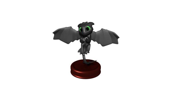 Toothless 3D Model