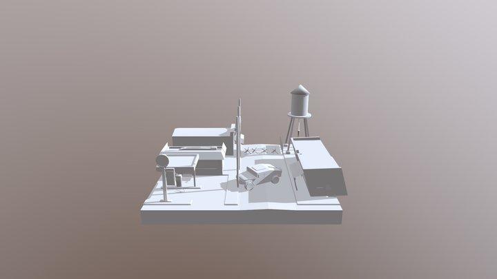 01DAE11 Alec Beelen Cityscene 3D Model