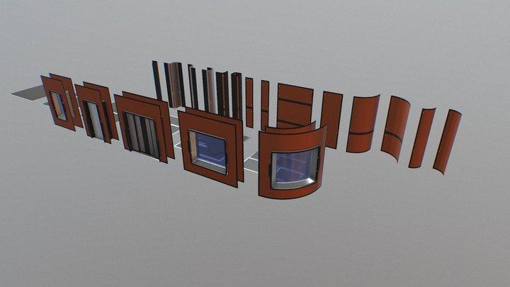 [FREE] Sci-fi constructor 3D Model