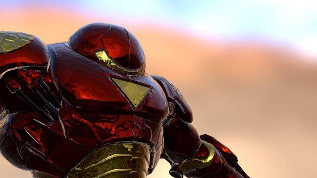 Hulk Buster Iron Man 3D Model