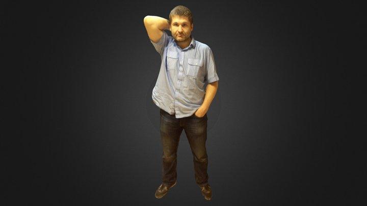 Ilya Ustinov full body 3D Model