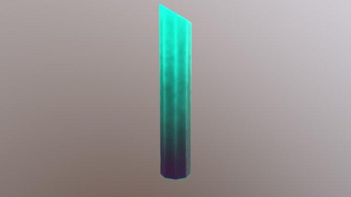 Pillar Crystal Low 3D Model