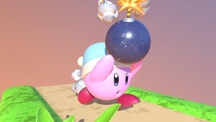 Kirby Bomber 3D Model