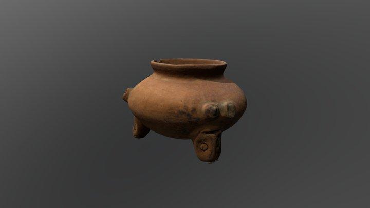 Tripod Vessel 3D Model