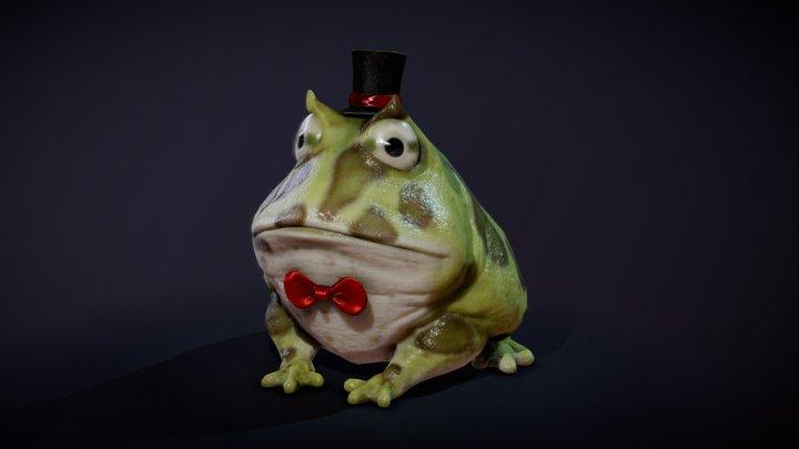 Dapper Frog 3D Model