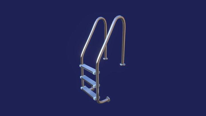Ladder-pool 3D Model