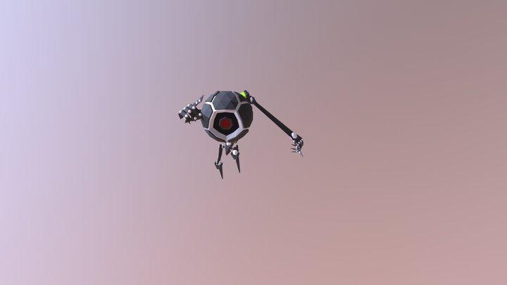 Walker bot | Running 3D Model