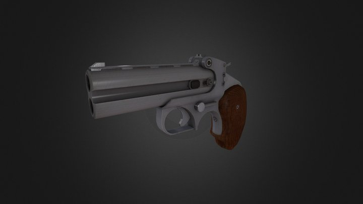 Derringer 3D Model
