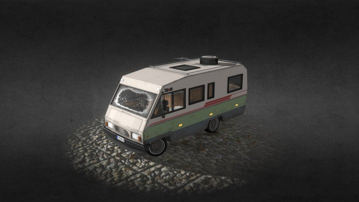 An old RV 3D Model