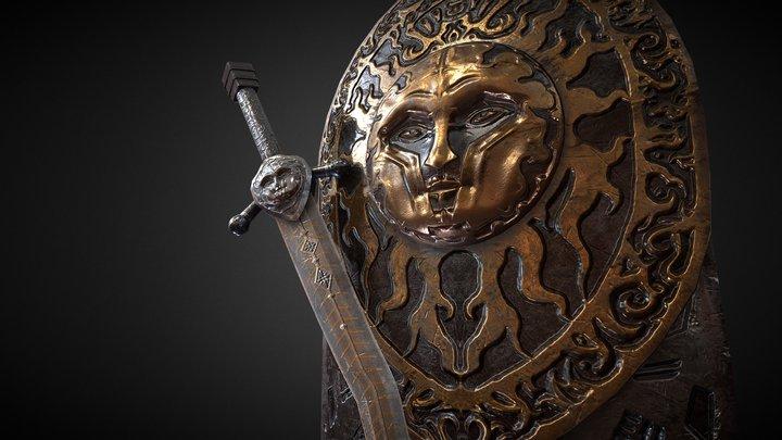 For Honor Vortiger-The Black Sun Set 3D Model