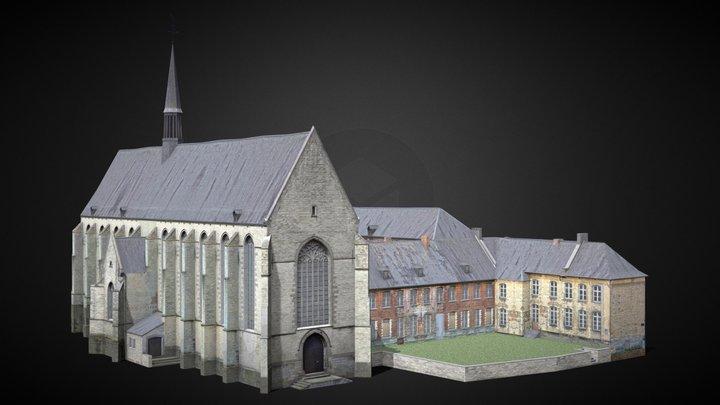 Couvent des Récollets, Nivelles [Belgium] 3D Model