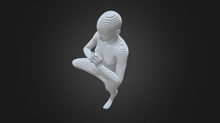 Parametric Figure 000 3D Model